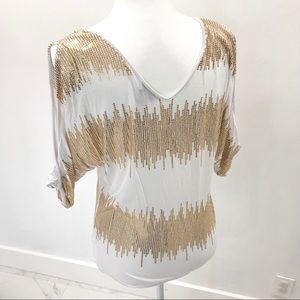 Bebe top blouse